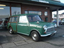 1969年モーリストラベラーMK2 1300cc・ディスクブレーキ・SUツインキャブ ¥3,180,000-