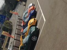 画像はエリーゼですが、その他セブン2台・ヨーロッパ1台・エキシージ1台合計9台でのツーリングでした。